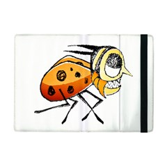 Funny Bug Running Hand Drawn Illustration Apple Ipad Mini 2 Flip Case by dflcprints