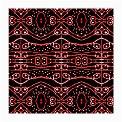 Tribal Ornate Geometric Pattern Glasses Cloth (medium) by dflcprints