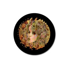 Organic Planet Magnet 3  (round) by icarusismartdesigns