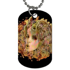 Organic Planet Dog Tag (two Sided)