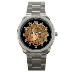 Organic Planet Sport Metal Watch by icarusismartdesigns