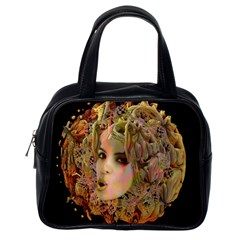 Organic Planet Classic Handbag (one Side) by icarusismartdesigns