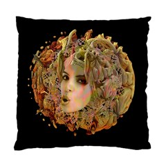 Organic Planet Cushion Case (single Sided)  by icarusismartdesigns