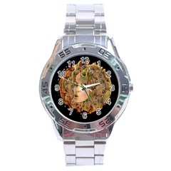 Organic Planet Stainless Steel Watch by icarusismartdesigns