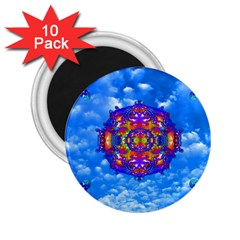 Sky Horizon 2 25  Button Magnet (10 Pack) by icarusismartdesigns