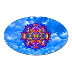 Sky Horizon Magnet (oval) by icarusismartdesigns