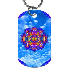 Sky Horizon Dog Tag (two Sided)  by icarusismartdesigns