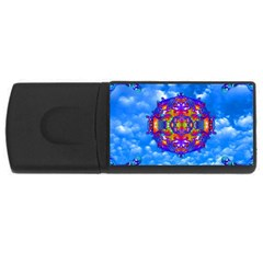 Sky Horizon 4gb Usb Flash Drive (rectangle)