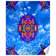 Sky Horizon Canvas 16  X 20  (unframed) by icarusismartdesigns