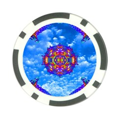 Sky Horizon Poker Chip