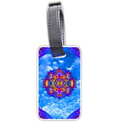 Sky Horizon Luggage Tag (one Side) by icarusismartdesigns