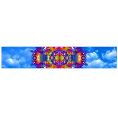 Sky Horizon Flano Scarf (large) by icarusismartdesigns