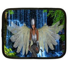 Magic Sword Netbook Sleeve (large) by icarusismartdesigns