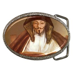 Anonymous Reading Belt Buckle (oval) by AnonMart