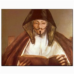 Anonymous Reading Canvas 8  X 10  (unframed) by AnonMart