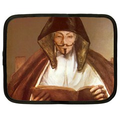 Anonymous Reading Netbook Sleeve (large) by AnonMart