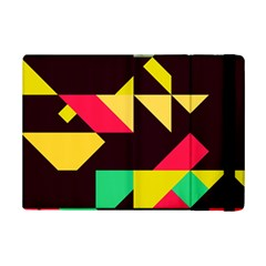 Shapes In Retro Colors 2 Apple Ipad Mini 2 Flip Case by LalyLauraFLM