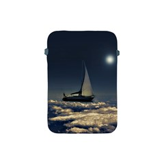 Navigating Trough Clouds Dreamy Collage Photography Apple Ipad Mini Protective Sleeve by dflcprints