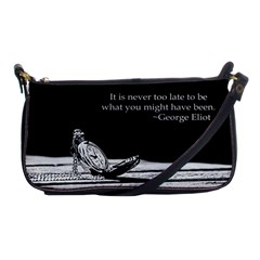 George Eliot Quote Evening Bag Evening Bag by KellyHazelArt