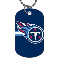 Tennessee Titans National Football League Nfl Teams Afc Dog Tag (one Sided) by SportMart