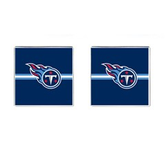 Tennessee Titans National Football League Nfl Teams Afc Cufflinks (square) by SportMart