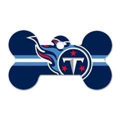 Tennessee Titans National Football League Nfl Teams Afc Dog Tag Bone (one Sided) by SportMart