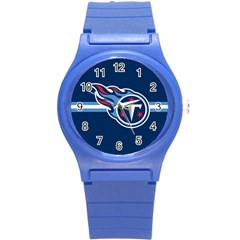 Tennessee Titans National Football League Nfl Teams Afc Plastic Sport Watch (small) by SportMart