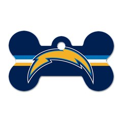 San Diego Chargers National Football League Nfl Teams Afc Dog Tag Bone (one Sided) by SportMart