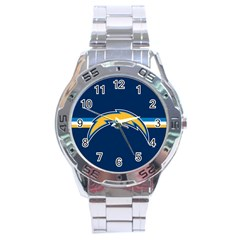 San Diego Chargers National Football League Nfl Teams Afc Stainless Steel Watch by SportMart