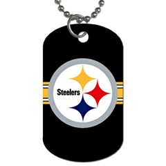 Pittsburgh Steelers National Football League Nfl Teams Afc Dog Tag (one Sided) by SportMart