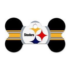 Pittsburgh Steelers National Football League Nfl Teams Afc Dog Tag Bone (one Sided) by SportMart