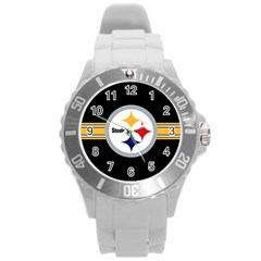 Pittsburgh Steelers National Football League Nfl Teams Afc Plastic Sport Watch (large)