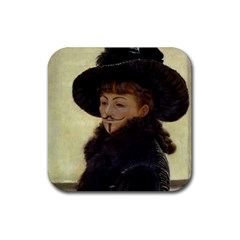 Kathleen Anonymous Ipad Drink Coaster (square) by AnonMart