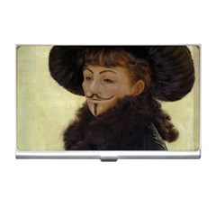 Kathleen Anonymous Ipad Business Card Holder by AnonMart