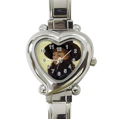 Kathleen Anonymous Ipad Heart Italian Charm Watch  by AnonMart