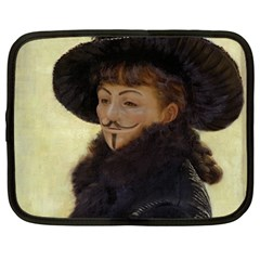 Kathleen Anonymous Ipad Netbook Sleeve (large) by AnonMart