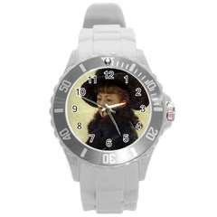 Kathleen Anonymous Ipad Plastic Sport Watch (large) by AnonMart