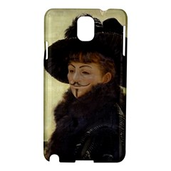 Kathleen Anonymous Ipad Samsung Galaxy Note 3 N9005 Hardshell Case by AnonMart
