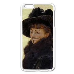Kathleen Anonymous Ipad Apple Iphone 6 Plus Enamel White Case by AnonMart