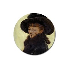 Kathleen Anonymous   James Tissot, 1877 Magnet 3  (round) by AnonMart
