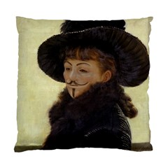 Kathleen Anonymous   James Tissot, 1877 Standard Cushion Case (one Side) by AnonMart