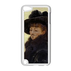 Kathleen Anonymous Ipad Apple Ipod Touch 5 Case (white) by AnonMart