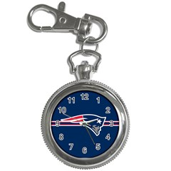 New England Patriots National Football League Nfl Teams Afc Key Chain Watch by SportMart
