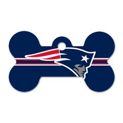 New England Patriots National Football League Nfl Teams Afc Dog Tag Bone (one Sided) by SportMart