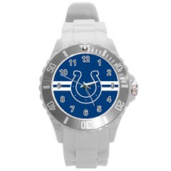 Indianapolis Colts National Football League Nfl Teams Afc Plastic Sport Watch (large) by SportMart
