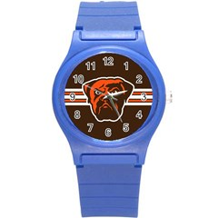 Cleveland Browns National Football League Nfl Teams Afc Plastic Sport Watch (small) by SportMart