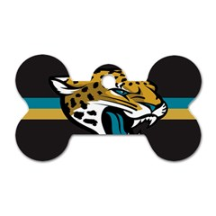 Jacksonville Jaguars National Football League Nfl Teams Afc Dog Tag Bone (two Sided) by SportMart