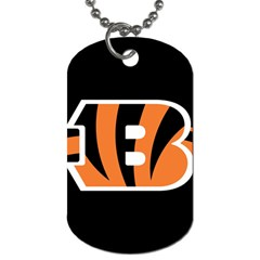 Cincinnati Bengals National Football League Nfl Teams Afc Dog Tag (two Sided)  by SportMart