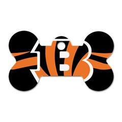 Cincinnati Bengals National Football League Nfl Teams Afc Dog Tag Bone (two Sided) by SportMart