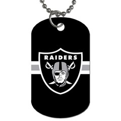 Oakland Raiders National Football League Nfl Teams Afc Dog Tag (one Sided) by SportMart